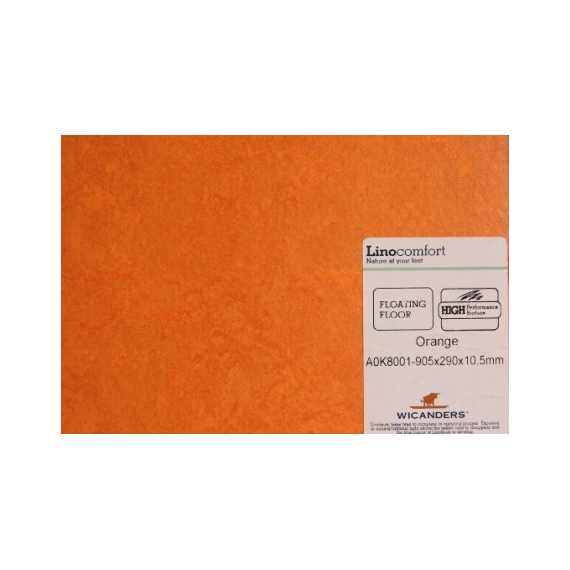 Tarima flotante  A 11,90 €/m2 - Orange