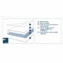 Tarima flotante en losetas cuadradas A 11,90 €/m2 - Ivory