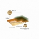 Tarima flotante A 14,90 €/m2 - Roble Cocoa Plus 3 Lamas Satinado